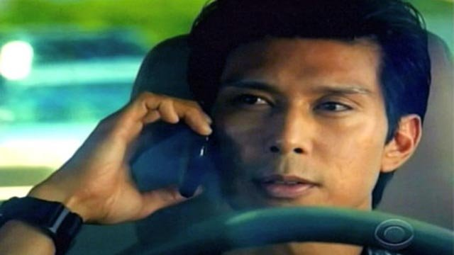 Keo Woolford as Det. Chang on Hawaii Five-O (Credit: CBS)