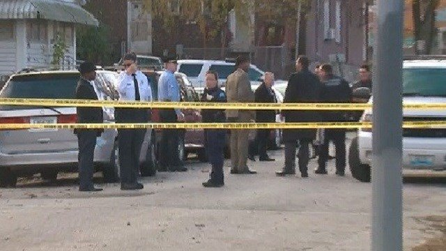 Homicide detectives were called to investigate a fatal stabbing in North St. Louis on Tuesday afternoon. (Credit: KMOV)