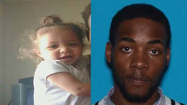 Kendall Lipsey, 26, allegedly kidnapped 18-month-old Kenadie Lipsey from her home in South County. There is an order of protection against him on Kenadie's behalf. Credit: St. Louis County PD