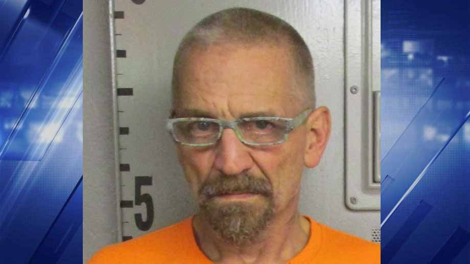 Fridtjov Severud, 55, is accused of fatally shooting Michael Gehm, 41, in Dent County and the saying 'How does that make you feel?' right afterwards. Credit: Dent County Sheriff