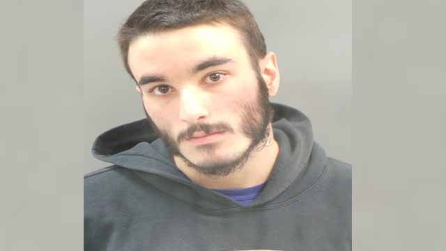 Salvatore Hartzell, 19, is accused of helping George Bush III carjack and rob a woman in south St. Louis on Nov. 19. Bush allegedly shot Sgt. Tom Lake the next day. Credit: SLMPD