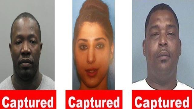 From left to right: William Gavin, Leaha M. Hazza, Brian Knight (Credit: St. Louis FBI)