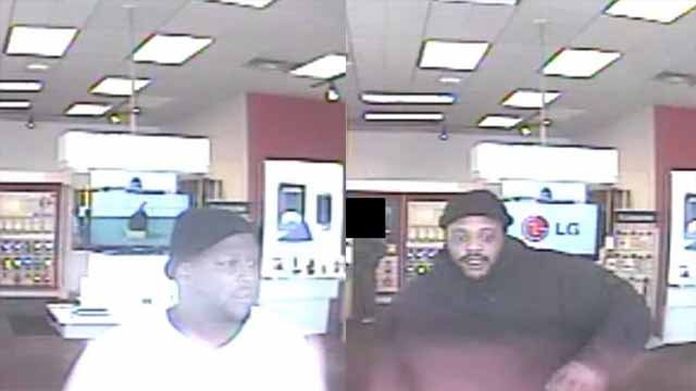 Two men are sought following a shooting of a GoWireless store employee in South St. Louis (KMOV)