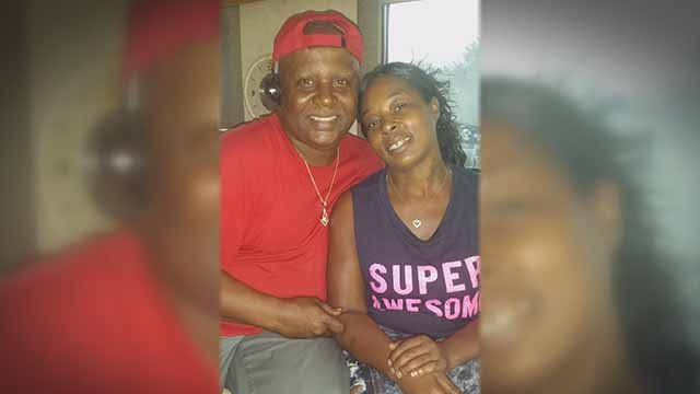 Clent McCorkle with his daughter Portia Adams. Credit: KMOV