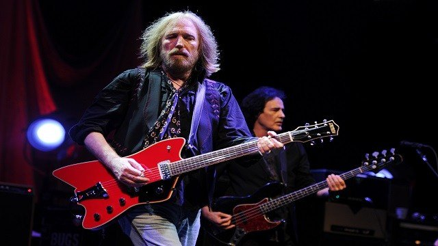 Tom Petty performs during the Tom Petty & the Heartbreakers Tour 2014 at the Cruzan Amphitheater on September 20, 2014 in West Palm Beach, Florida. (Credit: Jeff Daly/Invision/AP)