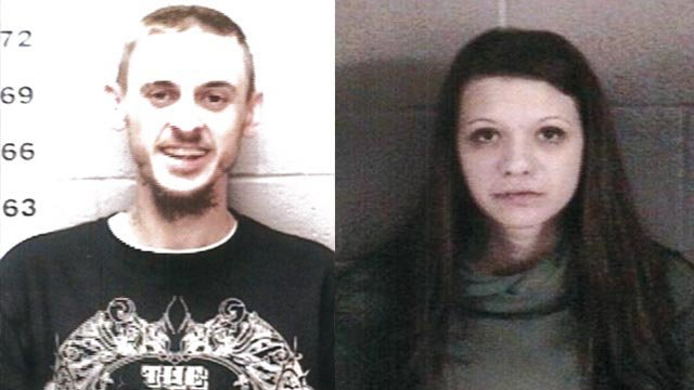 Brian Hodge & Kaitlyn Robinson are being sought by Jerseyville police (Credit: Jerseyville Police Department)