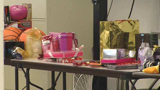 More than 150 donors donated gifts to families served by St. Patrick's Center Wednesday. Credit: KMOV