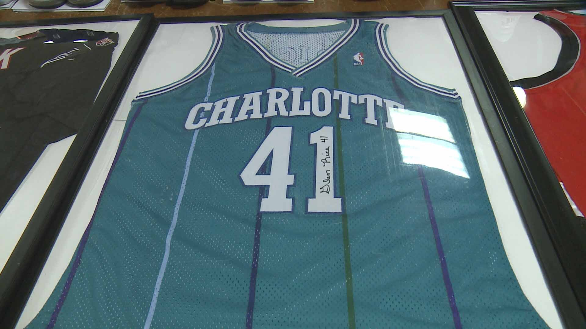 This item was auctioned off as part of an effort to help former NBA star Darius Miles out of debt. Credit: KMOV