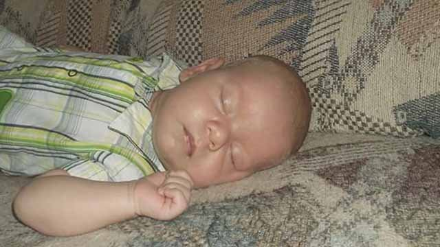 Byron died at only six weeks old while in the care of a baby sitter in Wentzville. His parents are still searching for answers. Credit: KMOV
