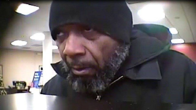Police are looking to identify a wanted bank robber (SLMPD)