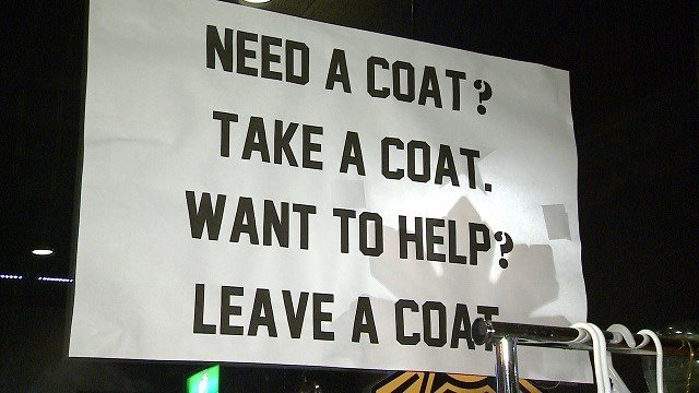 A community effort to ensure those without coats are warm this season is taking off. (Credit: KMOV)
