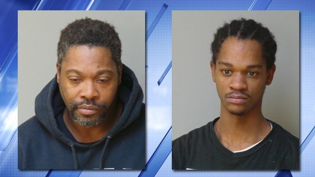 Two men are facing charges stemming from a smash-and-grab robbery in Florissant. (Credit: KMOV).