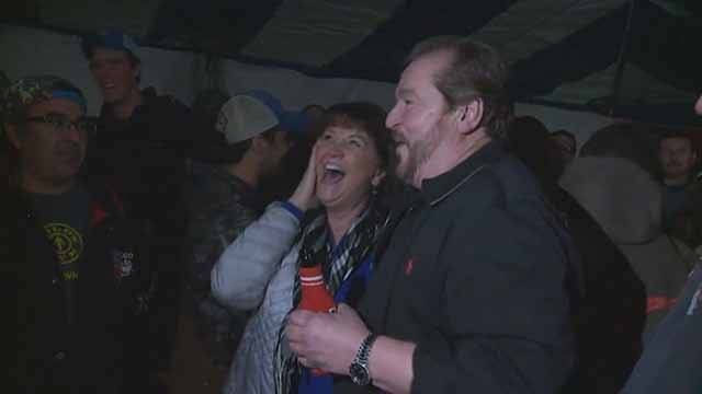 Ron Beckmann and his wife will be splitting a $377,000 prize with six others. Credit: KMOV