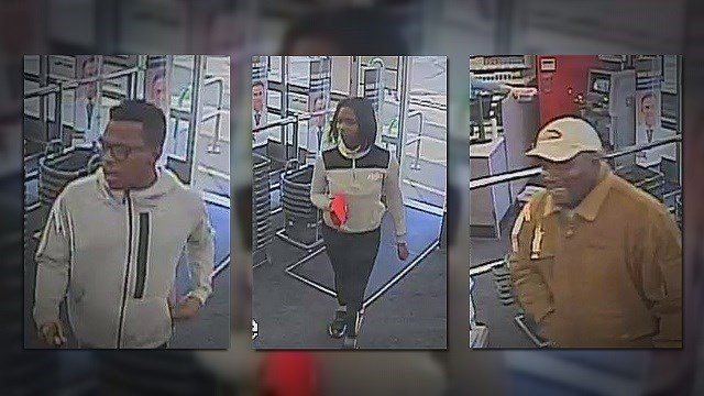 Police looking for three suspects that used stolen credit cards at Walgreens. (Credit: Edwardsville Police Department)