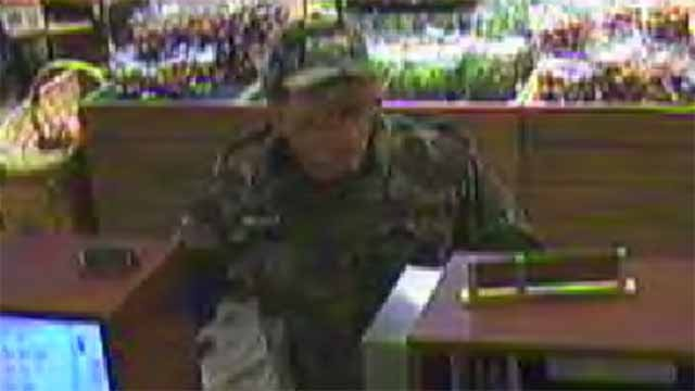 Police believe this man robbed the First Bank inside the Dierbergs in Florissant on Thursday. Credit: Florissant PD