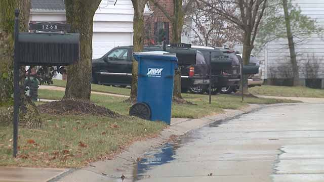 Police in Chesterfield are looking for someone who stole gift cards left out for a trash collector in a subdivision. Credit: KMOV