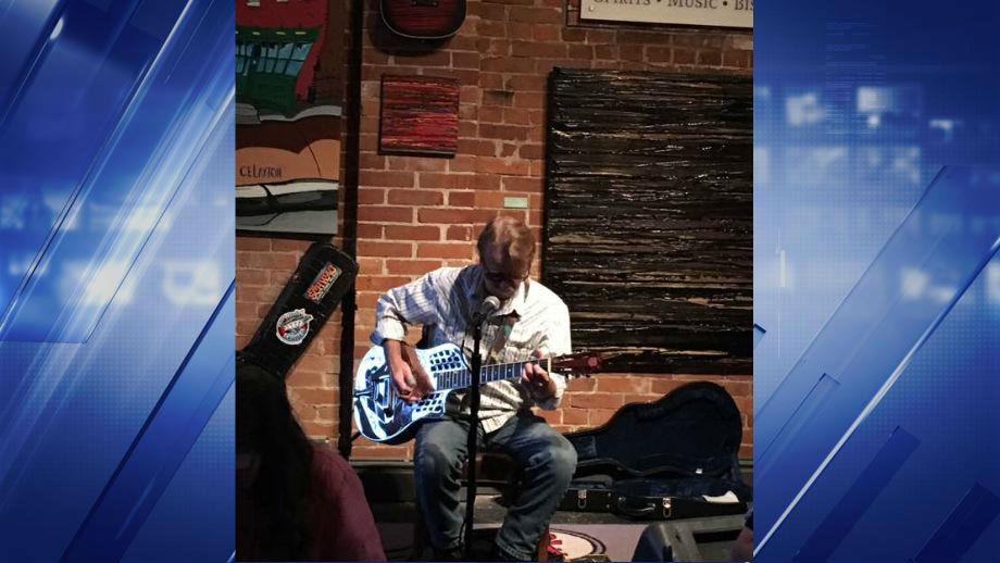 Tom Hall Playing at Howard's. (Credit: Tom Hall)