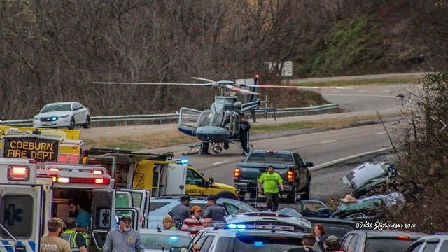 A St. Charles mother was killed in an accident in Virginia (Credit: Todd Richardson, Facebook)