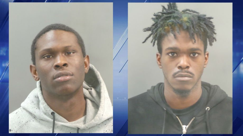 William Nelson (left) and Tavion Regans (right) are facing multiple charges in connection with a downtown carjacking on Christmas morning. (Credit: STL Metropolitan Police Department)