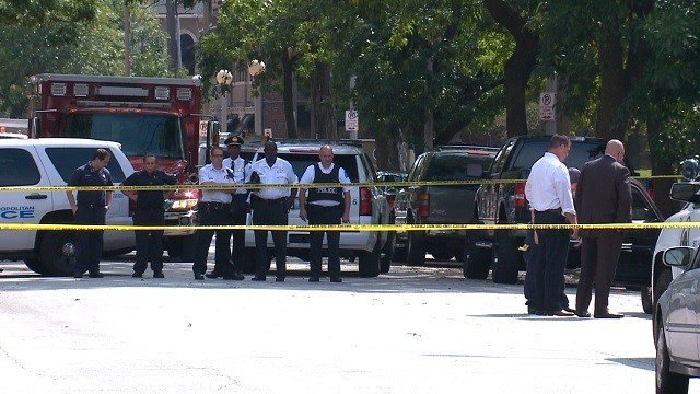 Homicide detectives on scene of a deadly shooting in the Central West End (KMOV)