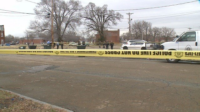 Homicide detectives discovered a man shot to death inside his vehicle Wednesday. (Credit:KMOV)