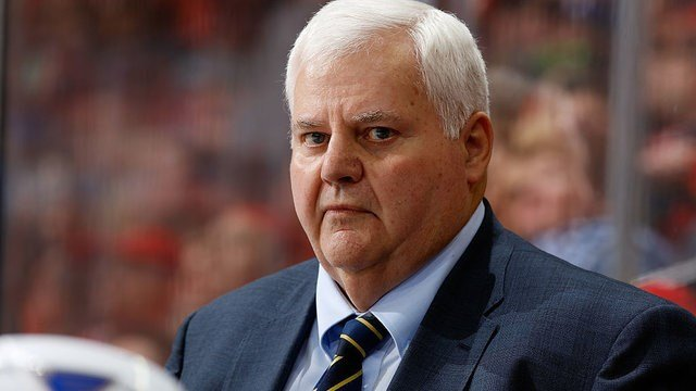 Ken Hitchcock sees the forest for trees as the Blues' home/road disparity continues. (Photo by Gerry Thomas/NHLI via Getty Images)