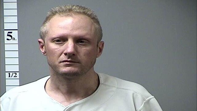 Steven Dillion is accused of stealing a fire department vehicle (Credit: St. Charles County Department of Corrections)