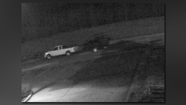 Chesterfield Police are looking for this vehicle in connection to a theft at Surdyke Motorsports. (Credit: KMOV).