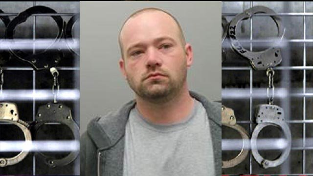 David Hartung, 35, is accused of robbing a Creve Coeur bank (Credit: Creve Coeur Police)