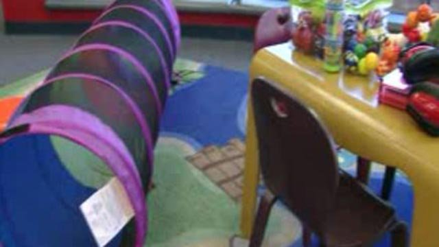 Inside the sensory story time at the St. Louis County Library (Credit: KMOV)