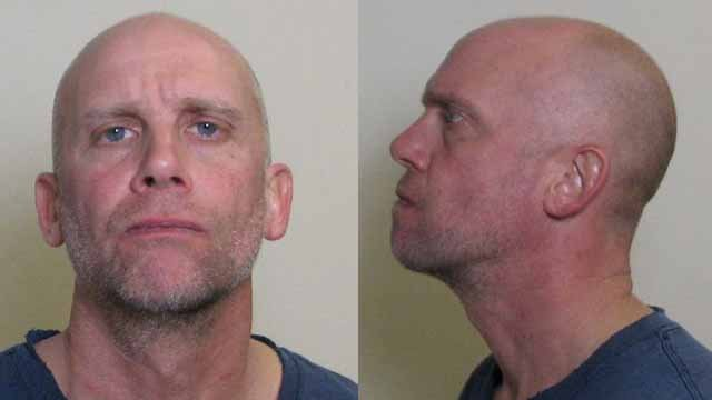 Dennis Miller, 45, allegedly stole more than $100,000 from an elderly Edwardsville woman. Credit: Madison County Sheriff