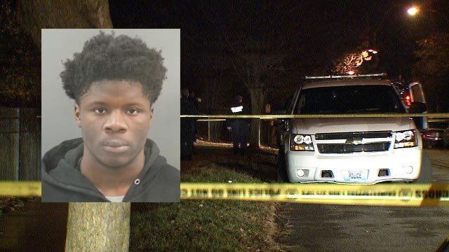Keith Graham, 19, is accused of fatally shooting Dwayne Clanton, 18, on Dec. 26 (Credit: St. Louis Police / KMOV)