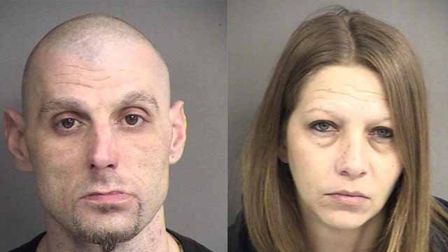 Bryan Riden, 34, and Melissa Hannon, 39, both of Rolla, allegedly threatened to blow up the Phelps Co. Courthouse in Rolla. Credit: Phelps County Sheriff
