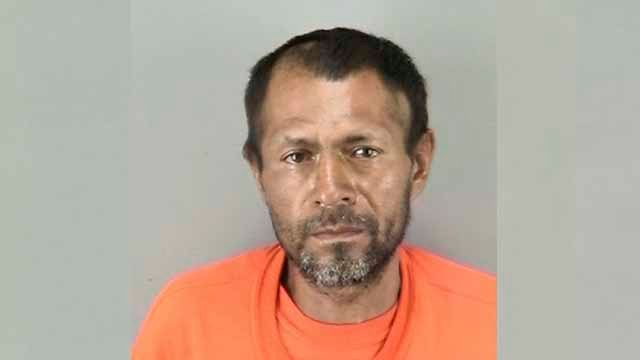 This undated file photo provided by the San Francisco Police Department shows Juan Francisco Lopez-Sanchez, the man who shot and killed Kate Steinle with a federal agent's stolen gun.(San Francisco Police Department via AP, File)