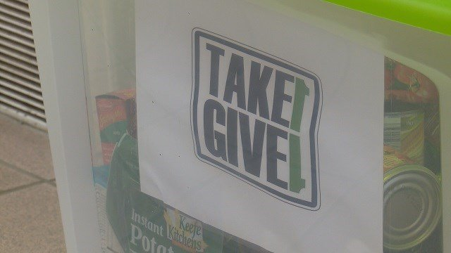Take 1 Give 1 Program gives helping hand for families in need. (Credit: KMOV)