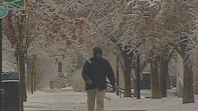 As winter weather looms, could this be a repeat of 2006's ice storm that left hundreds of thousands without power? (Credit: KMOV)