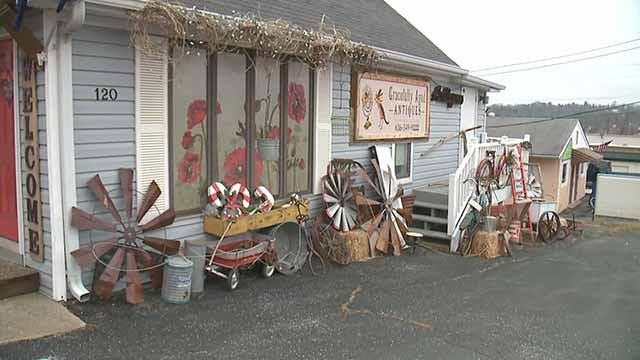 The owner of Gracefully Aged Antiques said the business will most likely closed if the schools are closed. Credit: KMOV