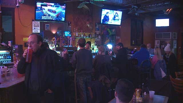 People were out and about in Soulard Friday. Credit: KMOV