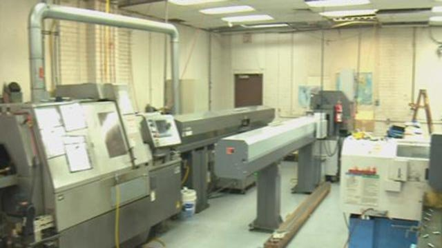 Inside of Modern Screw Products Co. Inc. (Credit: KMOV)