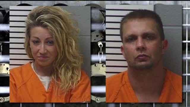 Cavin and Croker are facing drug charges. (Credit: KMOV).