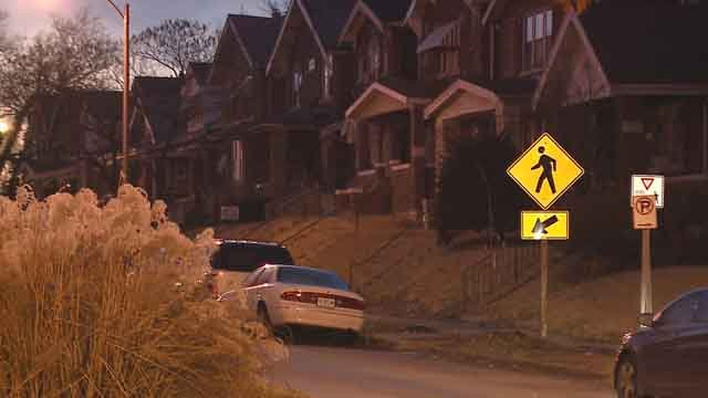A man was found dead in an alley suffering from head trauma. (Credit: KMOV).