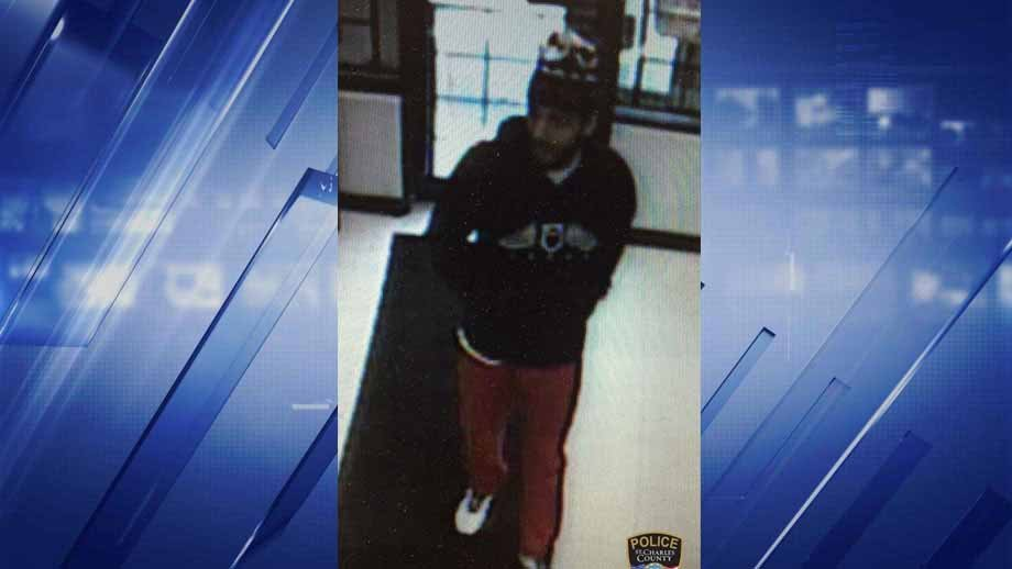 Police believe this man robbed a Discount Cigarettes and Beer store on Old Highway 94 Monday. Credit: St. Charles County Police