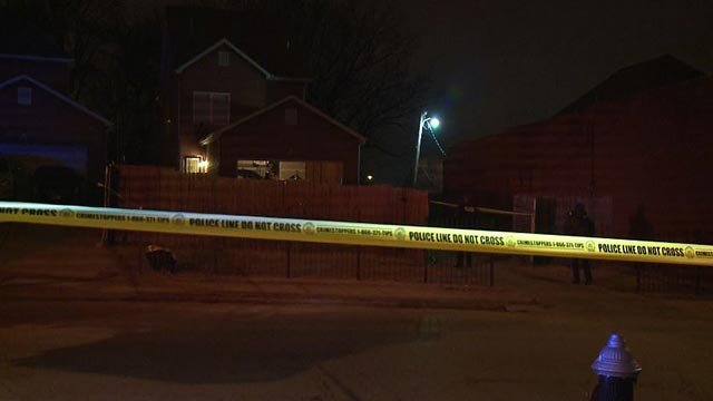 A man was shot and killed in the 2500 block of North 21st Street Monday (Credit: KMOV)