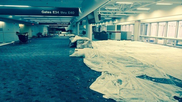 Renovations are underway at Lambert airport (KMOV)