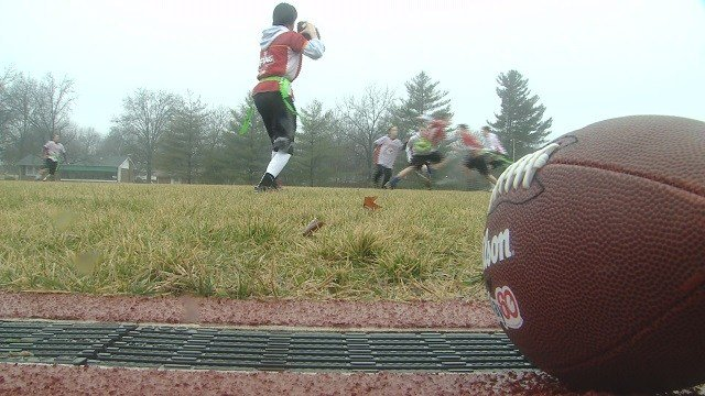 Lindbergh's flag football team will represent Missouri in a national tournament. (Credit: KMOV)