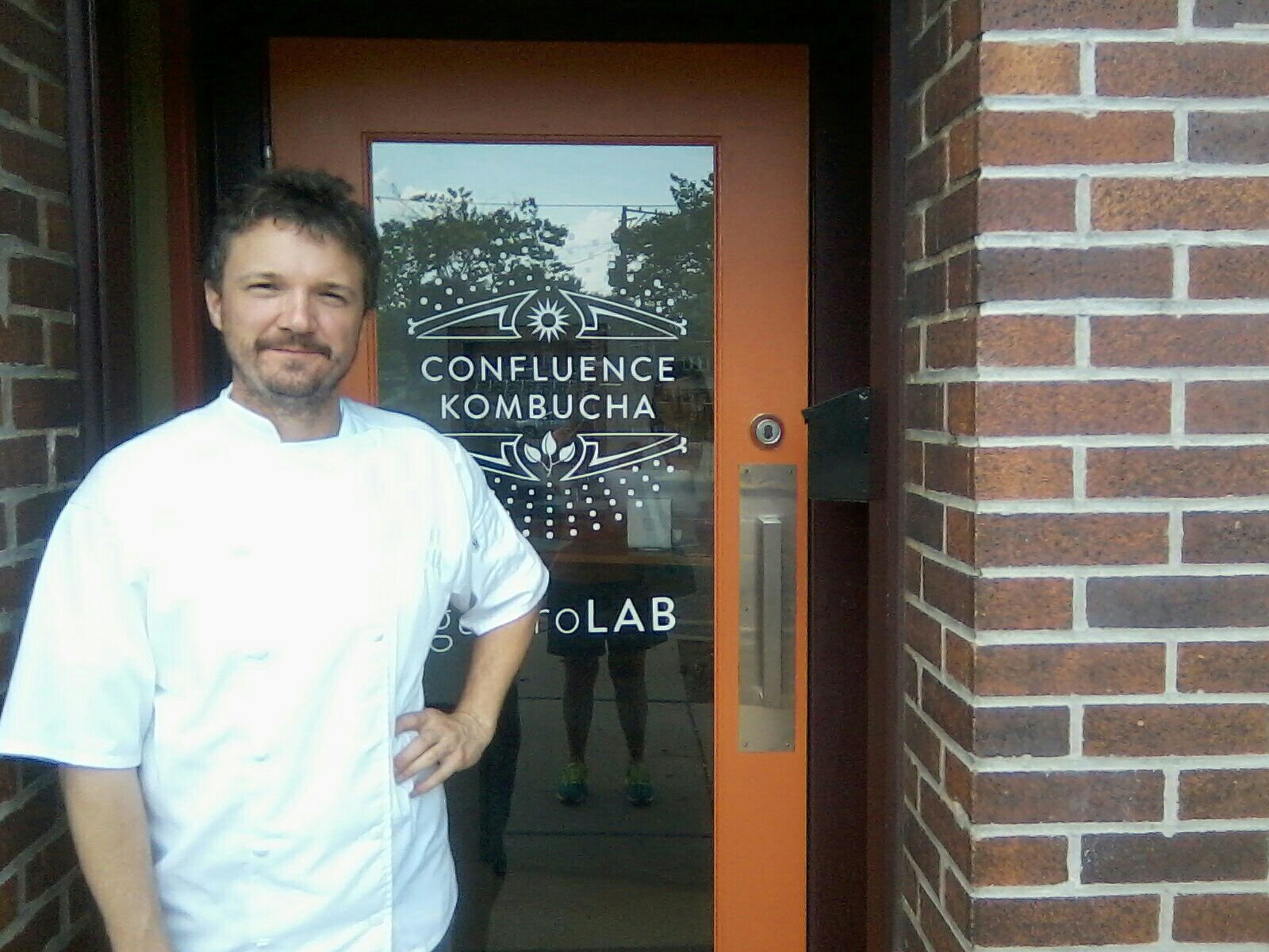 William Pauley, chef and owner of Confluence Kombucha, is healing after a near death accident. (Credit: Family photo)