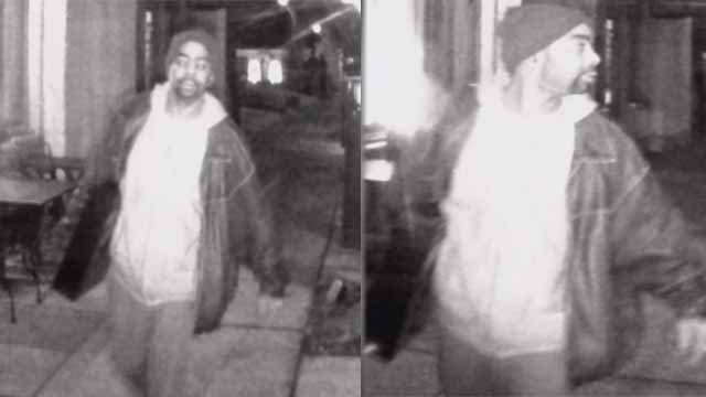 Police are looking for the man who burglarized Insomnia Cookies in the Central West End on Jan. 21. Credit: KMOV