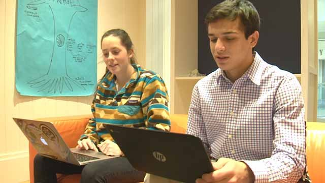 The Spark Program teams up Parkway students with entrepreneurs. Credit: KMOV