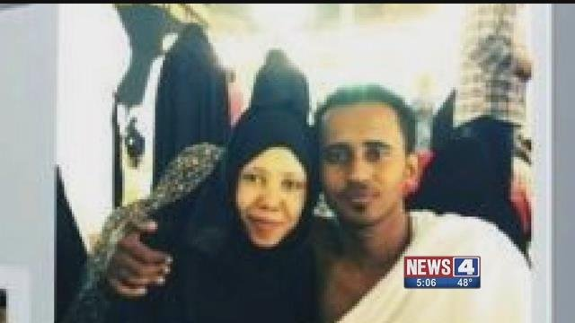 Muna Mohammed and husband have been separated due to an executive order signed by President Donald Trump. Credit: KMOV