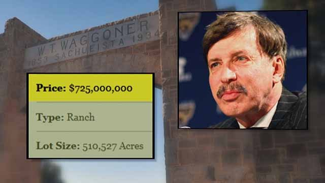 Stan Kroenke kicked long time residents off the Waggoner Ranch in Texas after he bough the property. Credit: KMOV